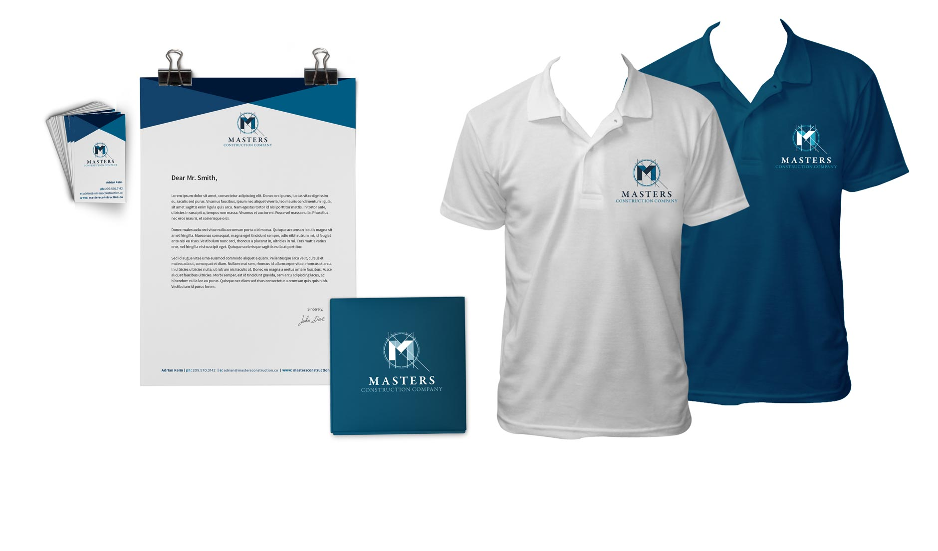 masters construction branding